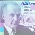 THE BEST OF BARBER:ADAGIO FOR STRING/AGNUS DEI/ETC