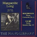 The Piano Library - Marguerite Long - Beethoven, Franck