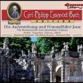 C.P.E.Bach: Die Auferstehung und Himmelfahrt Jesu (The Resurrection and Ascension of Jesus)