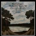 Paul Graener: Orchestral Works Vol.3 - Piano Concerto, Sinfonietta, etc