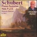 Schubert: Piano Sonatas No.9, No.11, Moments Musicaux D.780 No.1, No.3, No.6