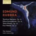 ラッブラ: テネブレ Op.72、3つのモテット Op.76、5つのモテット Op.37、カンタベリー・ミサ Op.59