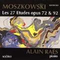 Moszkowski: Les 27 Etudes Op 72 & 92 / Alain Raes