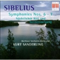 Sibelius: Symphonies 6 and 7, Naechtlicher Ritt / Sanderling