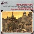 Balakirev: Symphony no 2, Overture, etc / Svetlanov, USSR SO