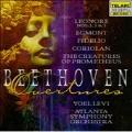 Beethoven: Overtures -Egmont Op.84, The Creatures of Prometheus Op.43, etc / Yoel Levi(cond), Atlanta SO