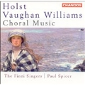 Holst, Vaughan Williams: Choral Music /Spicer, Finzi Singers