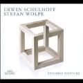 Schulhoff: Divertimento; Wolpe: An Anna Blume von Kurt Schwitters, etc