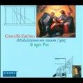G.Zarlino: Modulationes Sex Vocum (1566)
