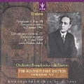 Brahms: Violin Concerto, Symphony 3 / Heifetz, Koussevitsky