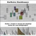 Karlheinz Stockhausen: Studie I & II, Gesang der Junglinge<限定盤>