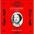 Lehmann in Opera -Weber, Mozart, Wagner, etc (1916-21) / Lotte Lehmann(S), etc