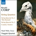 "R.Corp: String Quartets No.1 ""The Bustard"", No.2, Country Matters"