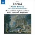 F.Benda: Violin Sonatas (With Original Ornamentation) - No.10, No.14, No.23, No.28, No.32