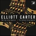 Elliott Carter: The 5 String Quartets