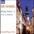 Hummel: Piano Trios Vol.2 - No.1, No.4, No.5