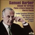 Barber: Violin Concerto Op.14, Piano Concerto Op.38, Adagio for Strings Op.11, etc