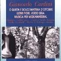 Cardini: Musica per Medeamaterial, etc / Cardini, et al