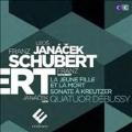 """Schubert: String Quartet No.14 """"Death and the Maiden""""; Janacek: String Quartet No.1 """"Kreutzer Sonata"""""""