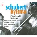 """Schubert: String Trio No.1, No.2, Piano Quintet D.667 """"The Trout"""", Arpeggione Sonata, Notturno D.897 / Anner Bylsma, Vera Beths, Jos van Immerseel, Marji Danilow, Jugen Kussmaul"""