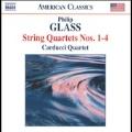 P.Glass: String Quartets No.1-No.4