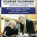 Charles Wuorinen: Eighth Symphony (Theologoumena), Fourth Piano Concerto