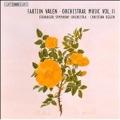 Valen: Orchestral Music Vol.2: Nenia Op.18-1, An die Hoffnung Op.18-2, Symphonies No.2 Op.40, No.3 Op.41, etc / Christian Eggen(cond), Stavanger Symphony Orchestra