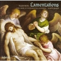 G.P.D.PALESTRINA:LAMENTATIONS OF JEREMIAH BOOK.3:MARTIN BAKER(cond)/WESTMINSTER CATHEDRAL CHOIR