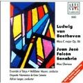Beethoven: Mass in C;  Sanabria: Misa Gloriosa / Maurer, etc