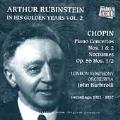 Arthur Rubinstein In His Golden Years Vol 2 - Chopin