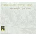 D.del Tredici: Vintage Alice, Syzygy, etc / Lucy Shelton(S), Oliver Knussen(cond), Asko Ensemble
