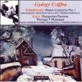 Tchaikovsky: Piano Concerto No.1 (4/6 & 12/1957); Liszt: Hungarian Fantasy (1 & 2/1957), Mazeppa, Paysage (11 & 12/1957) / Gyordy Cziffra(p), Pierre Dervaux(cond), Orchestre National de l'ORTF, Orchestre de la Societe du Conservatoire Paris