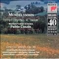 Marlboro Fest 40th Anniversary- Mendelssohn: Symphony no 4