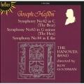 Haydn: Symphony no 82, 83, 84 / Goodman, Hanover Band