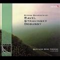 String Quartets by Ravel, Stravinsky, Debussy / Quatuor Sine Nomine