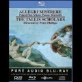 G.Allegri: Miserere; G.P.Palestrina: Missa Papae Marcelli, etc [Blu-ray Audio+CD]