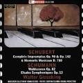 Schubert: Impromptus D.899, D.935, Moments Musicaux; Schumann: Symphonic Etudes, Waldszenen