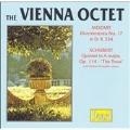 Mozart: Divertimento no 17;  Schubert: Quintet /Vienna Octet