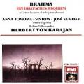 Brahms: German Requiem / Karajan, Tomowa-Sintow, Van Dam
