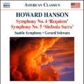 Howard Hanson: Symphonies No.4, No.5, etc