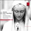 Poulenc: Gloria, Stabat Mater, Litanies a la Vierge Noire