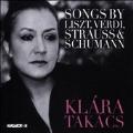 Songs by Liszt, Verdi, R.Strauss & Schumann