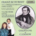 Schubert: The Complete Original Piano Duets Vol 3