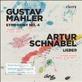 Mahler: Symphony No. 4 Chamber Version; Schnabel: Lieder Chamber Version
