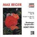 Reger: Sinfonietta Op 90, etc / Stein, Bamberg SO