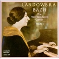 Bach: Well-Tempered Clavier, Book 1 / Wanda Landowska
