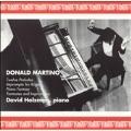Martino: 12 Piano Preludes, Piano Fantasy, etc / Holzman