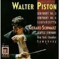 Piston: Symphonies no 2 & 6, etc / Schwarz, Seattle Symphony