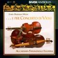 ...E per Concerto di Viole