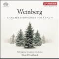 Weinberg: Chamber Symphonies No.3 & No.4